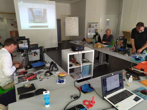 I3DF Formation Numérique et métiers de l'impression 3D 100% prises en charge